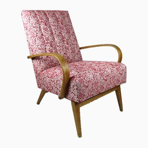Rose Velvet Armchair, 1970s