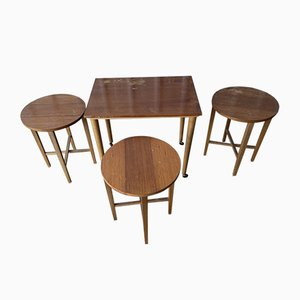 Mid-Century Nesting Tables from Hundevad & Co., Set of 4