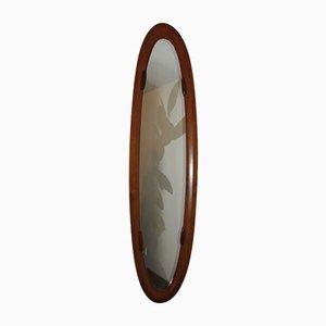 Specchio in teak di Franco Campo, Italia, anni '50