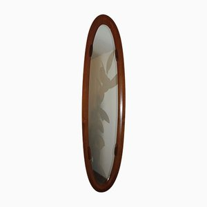 Teak Mirror by Franco Campo, Italy, 1950s