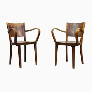 Bentwood B47 Armchairs by Michael Thonet, 1930s, set of 2