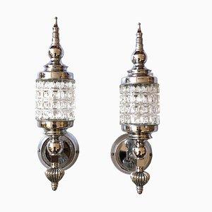 Spanische Wandlampen, 1960er, 2er Set