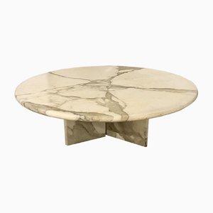 Tavolino da caffè vintage in marmo, Italia, anni '70