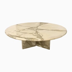 Vintage Marble Coffee Table, Italy, 1970s