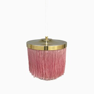Mid-Century Fringed T605 Ceiling Lamp by Hans-Agne Jakobsson for Hans-Agne Jakobsson AB Markaryd