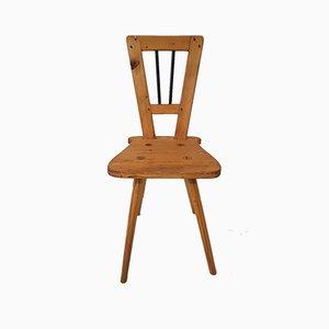 Biedermeier Rustic Chalet Style Chair, 1800s