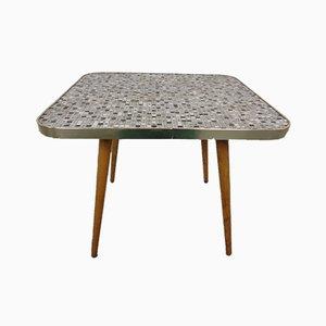 German Ceramic Mosaic Sofa Table, 1960s