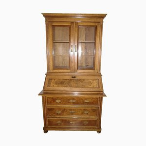 Handgemachter Antiker Sekretär aus massivem Holz