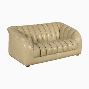 Leatherette Foam Sofa, Italy, 1960s