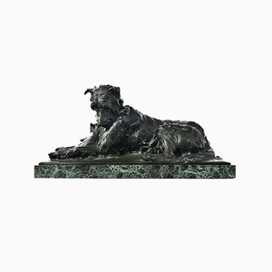 Bronze Skulptur 2 Friends von Charles Paillet