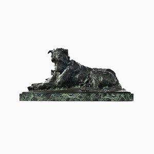 Sculpture en Bronze 2 Amis par Charles Paillet