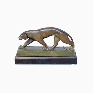 Prowling Panther Sculpture