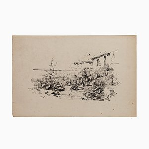 Unknown - Nature - Original Lithograph - 19th Century