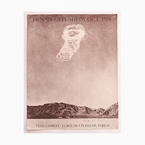 Dennis Oppenheim - Vintage Dennis Oppenheim Poster - Original Offset Print - Late 20th Century