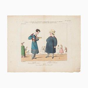 Godefroy Engelmann - Variety Theater - Gravure à l'Eau-Forte originale sur Papier - 1820