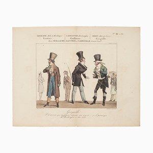 Godefroy Engelmann - Variety Theater - Original Etching on Paper - 1820 Ca.