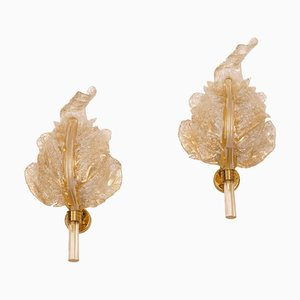 Sconces from Barovier & Toso, 1960s, Set of 2