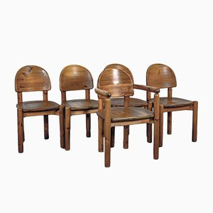 Danish Dining Chairs by Rainer Daumiller, 1970s, Set of 5
