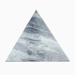 Dreieckiges Schneidebrett aus grauem Marmor von Fiammettav Home Collection