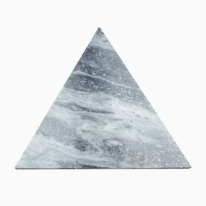 Triangular Grey Marble Cutting Board from Fiammettav Home Collection