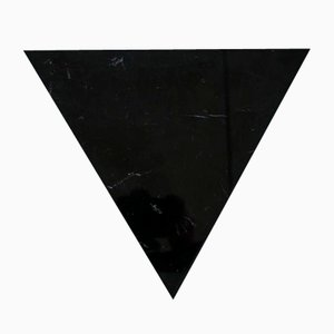 Triangular Black Marble Cutting Board from Fiammettav Home Collection
