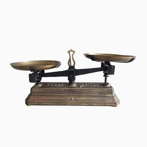 Antique Cast Iron and Brass Scales