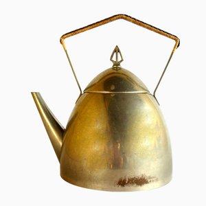 Antique Art Nouveau Metal Teapot from WMF