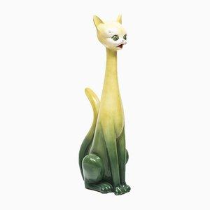 Ceramic Cat, 1950s