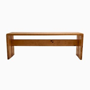 Mid-Century Les Arcs Bench by Charlotte Perriand