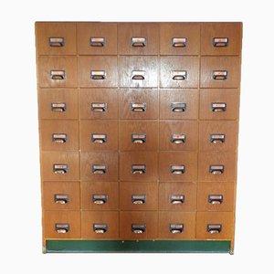Mid-Century German Apothecary Cabinet
