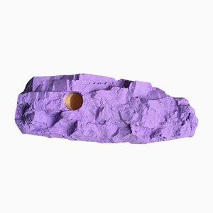 Portacandela da montagna viola
