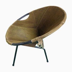 Mid-Century Armchair by Lusch Erzeugnis for Lusch & Co, 1960s