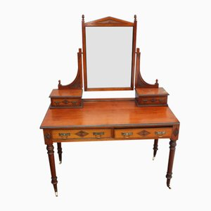 Antique Maple and Mahogany Dressing Table