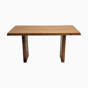 Mid-Century T14 Dining Table by Pierre Chapo