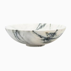 Small Paonazzo Marble Bowl from Fiammettav Home Collection