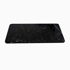 Black Marquina Marble Cheese Plate from Fiammettav Home Collection
