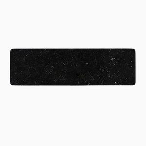 Schwarzer Marquina Marmor Teller von Fiammettav Home Collection