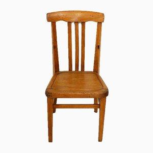 Petite Chaise d'Enfant Vintage en Bois
