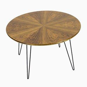 Vintage Walnut and Steel Coffee Table, 1970s