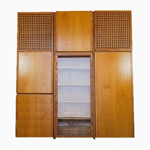 Maple Wood Cabinet, 1970s