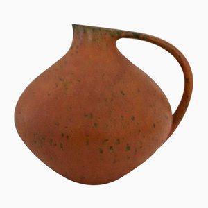 Model 315 Lava Fat Ceramic Vase from Ruscha, 1960s