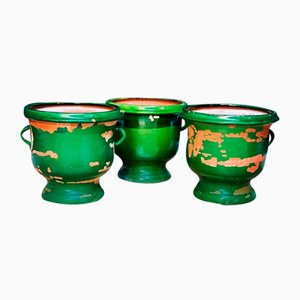 Antique Pots, Set of 3