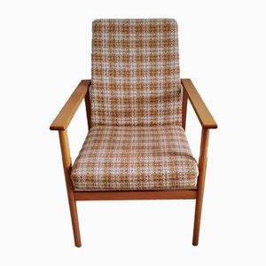 Light Wood Armchair, 1970s
