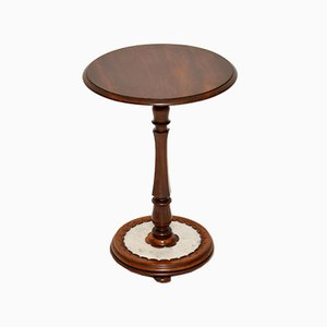 Antique William IV Style Marble Side Table