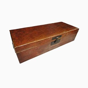 Antique Red Lacquer Chinese Chest