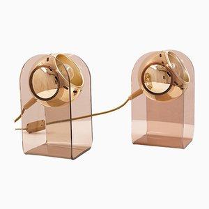 Tischlampen von Insta Sensorette, 1970er, 2er Set