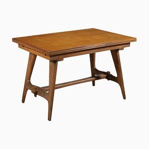 Tavolo allungabile in quercia, anni '50