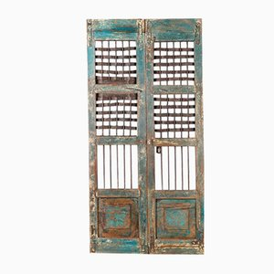 Patinated Wooden Door