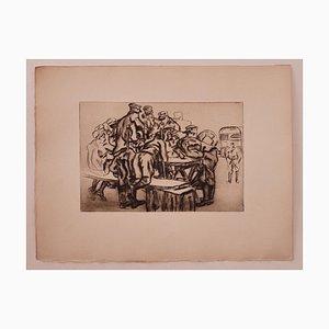 Anselmo Bucci - Military - Original Etching - 1919