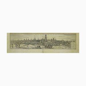 Franz Hogenberg - Ansicht von Mechelen - Original Radierung - 16. Jahrhundert